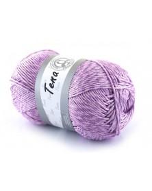 Włóczka Tena kolor fiolet 510