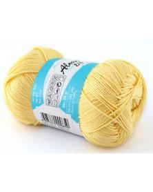 Almina Madame Tricote kolor pastelowy żółty 5301
